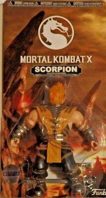 X SCORPION Flam Figur ca. 14 cm Groß NEU (Mortal Kombat Scorpion)