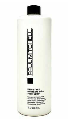 Paul Mitchell Freeze and Shine Super Spray 33.8 oz _** FAST SHIPPING**