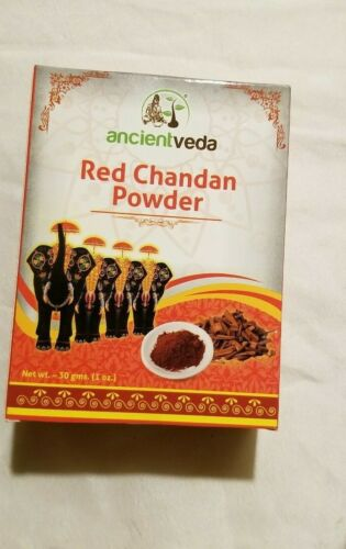 Sandalwood Red Chandan Powder 30 Gm Puja Tilak Festivals Rituals