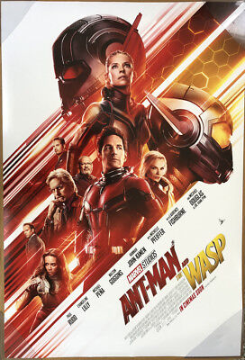 ANT-MAN AND THE WASP MOVIE POSTER 2 Sided ORIGINAL INTL FINAL 27x40 PAUL RUDD