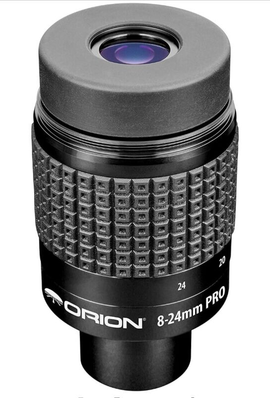 Orion 8-24mm Pro Lanthanum Zoom Eyepiece