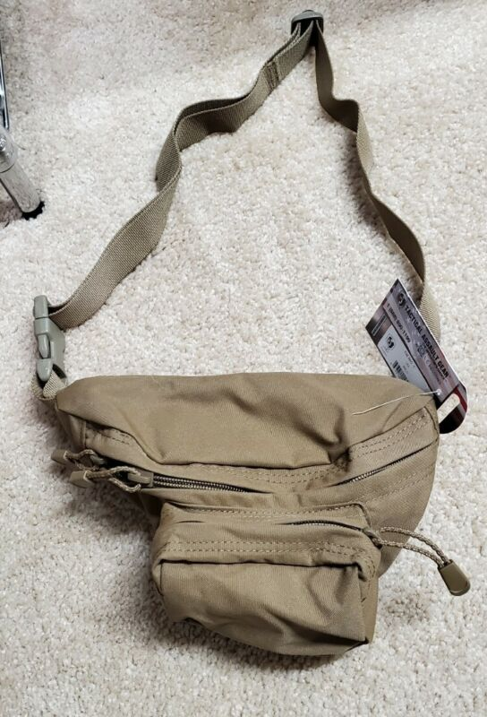 TACTICAL ASSAULT GEAR TAG E&E BAG FANNY BELLY PACK IFAK COYOTE BROWN  ESCAPE