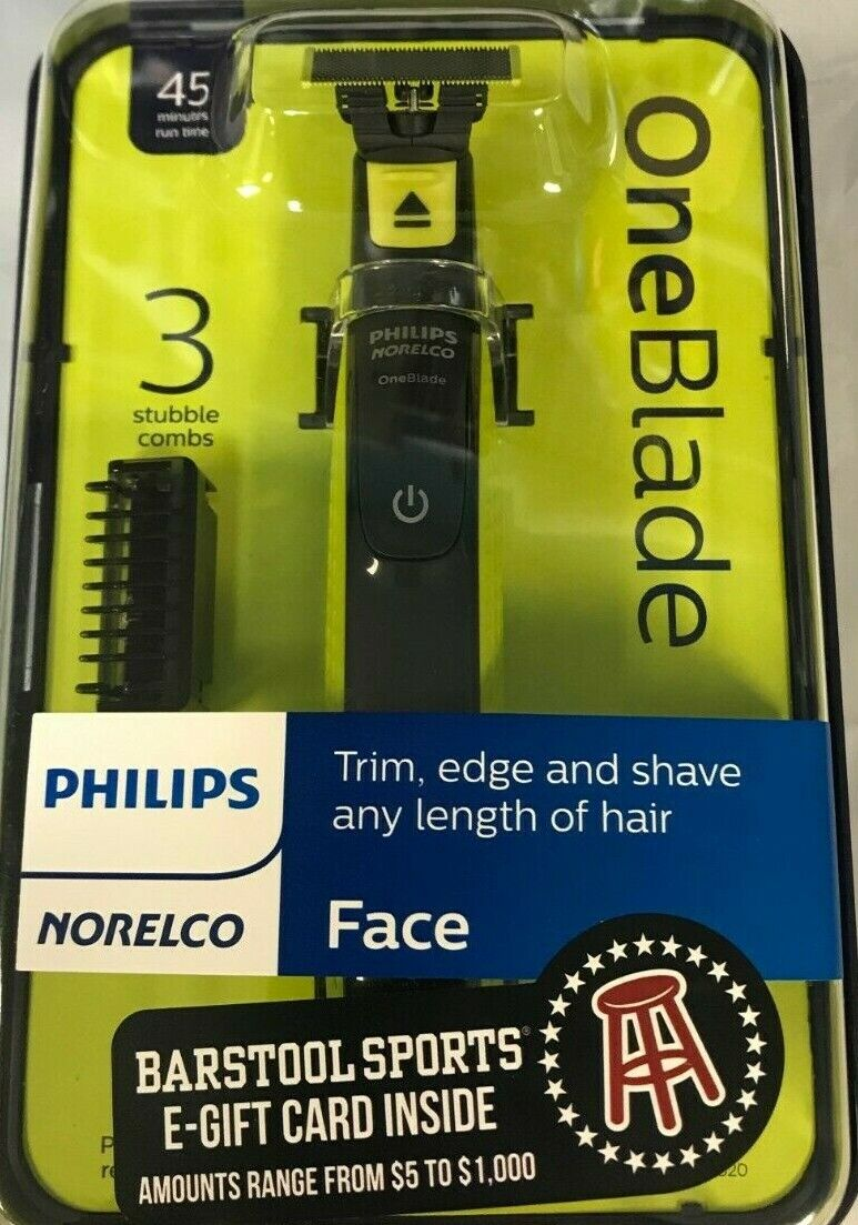 Philips Norelco Oneblade FACE Hybrid Electric Trimmer Shaver