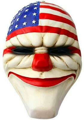 Payday 2 The Heist Dallas Resin Full Face Mask Cosplay Fancy Dress Halloween