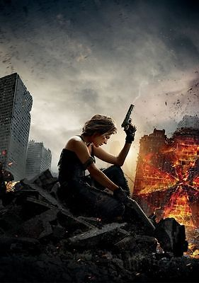 Resident Evil The Final Chapter Movie Poster 18 X 28 Id 1
