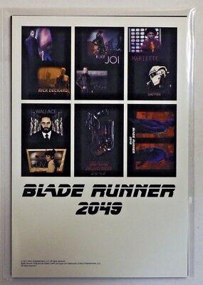 Blade Runner 2049 2017 Harrison Ford Japanese Post Card Lobby Set of 7 NEW