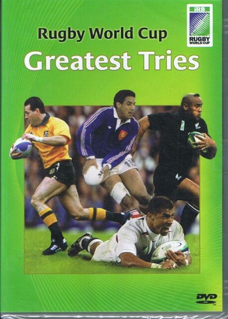 Rugby World Cup - Greatest Tries DVD NEW & SEALED Free Post
