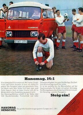 Hanomag-1969-II-Reklame-Werbung-genuine Advert-La publicité-nl-Versandhandel