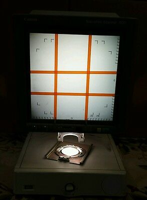 Used Canon Microfilm Scanner 400 Ms Microfiche Reader Model M31019