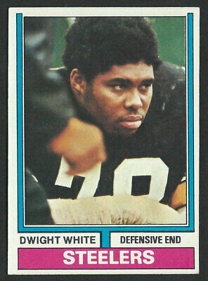 1974 TOPPS #246 DWIGHT WHITE Pittsburgh Steelers - DW03  Dwight White Pittsburgh Steelers