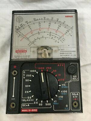 Sanwa Analog Multimeter U-60d