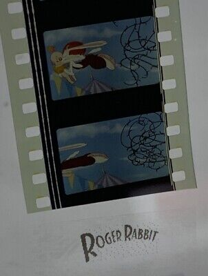 ROGER RABBIT Animation Authentic Film 5-Cells TRAIL MIX-UP Saving Herman