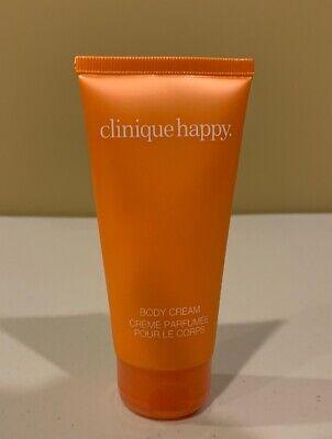 CLINIQUE HAPPY Body Cream 2.5 oz./75 ml NEW Clinique Happy Body Cream