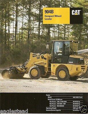 Equipment Brochure - Caterpillar - 904b - Compact Wheel Loader - 2005 Eb624