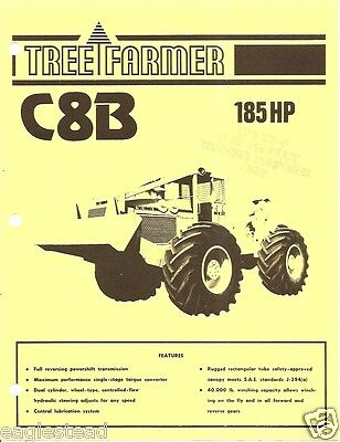 Equipment Brochure - Tree Farmer - C8B - Skidder Logging Forestry - c70's (E1418