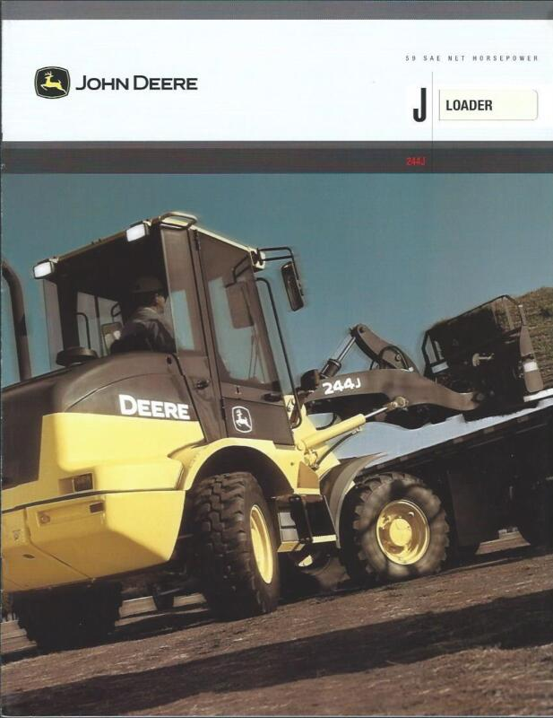 Equipment Brochure - John Deere - 244J - Wheel Loader - c2004 (E2627)
