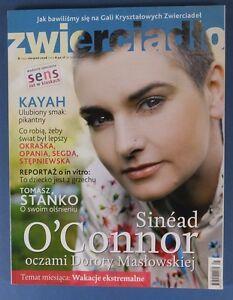 SINEAD O'CONNR mag.FRONT cover 2008 Lewis Carroll,Tomasz Stanko,Jacek Cygan - europe, Polska - Zwroty są przyjmowane - europe, Polska