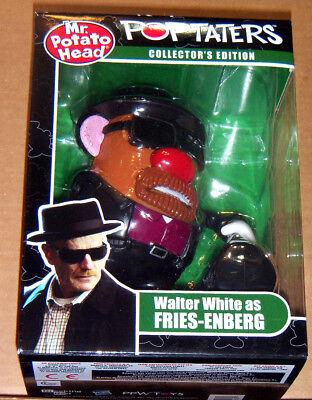 Mr. Potato Head Breaking Bad Walter White as Fries-Enberg Pop Taters Heisenberg
