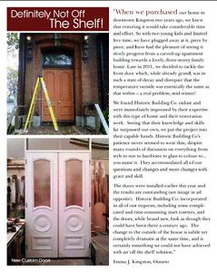 Custom furniture, trims, kitchens and woodworking Kingston Kingston Area image 3