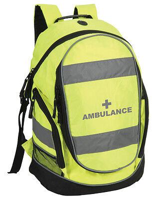 Ambulance Rucksack/Work Bag - Paramedic First Responder First Aid