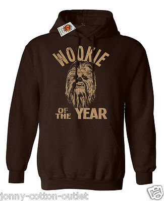 Wookie Of The Year Chewbacca Star Wars Inspired mens ladies unisex hoodie 57