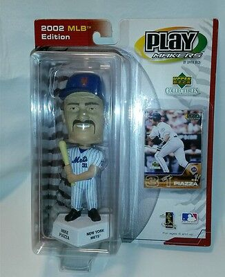 ☆ LOT PLAY MAKERS 2002 MLB BOBBLEHEAD MIKE PIAZZA FREE SHIPPING