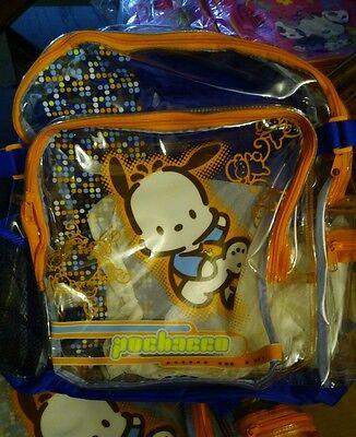 Sanrio pochacco clear backpack