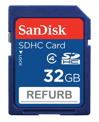Wholesale LOT SanDisk 32GB SD 32G SDHC Class 4 SD Camera memory card SDSDB-032 ()