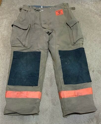 Morning Pride Firefighter Bunker Turnout Gear Pants 38 x 30 USA Nomex III