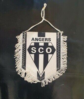 Maillot jersey shirt maglia fanion pennant 1980s vintage ancien rare sco angers  image