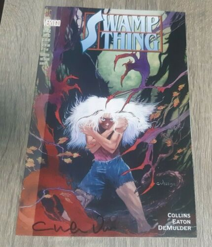 SWAMP THING #132 SIGNED CHARLES VESS  #1134 JUSTICE LEAUGE DARK