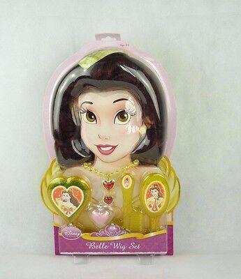 Disney Princess Rubies 5323 Belle VerkleidungsSet Perücke & Schmuck (Disney Princess Belle)