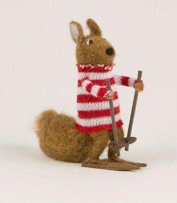 Felt Christmas Decoration Sass & Belle Squirrel - Brand New ()