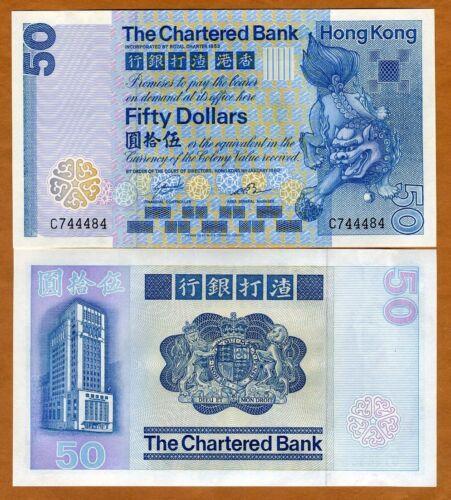 Hong Kong, $50, 1982, CB, P-78c, UNC