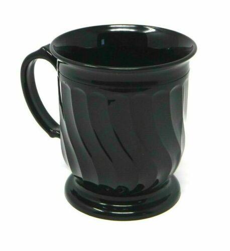CARLISLE DINEX DX300003 Mug, Insulated, H 4 In, Onyx, PK 24
