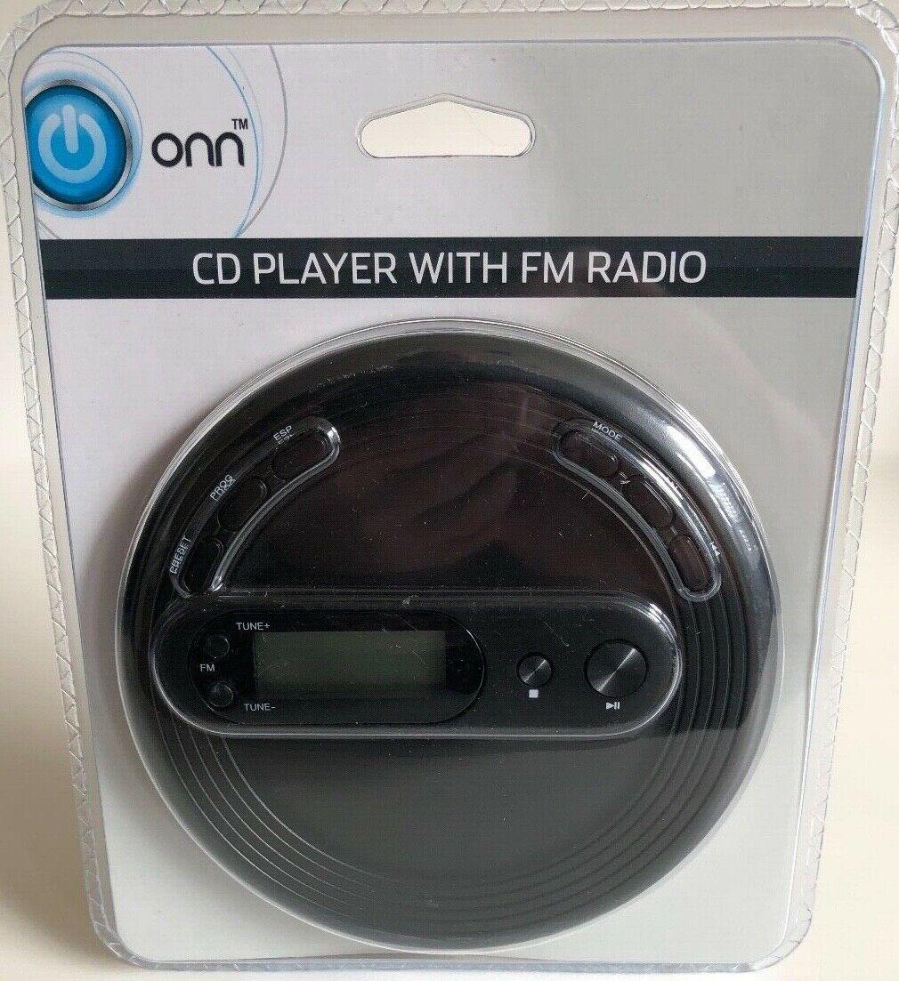 Onn Cd Player With Fm Radio
