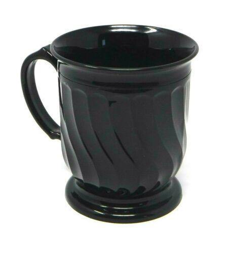 Dinex Onyx Carlisle Company Turnbury 8 oz. Mug DX300003 (Brand New)
