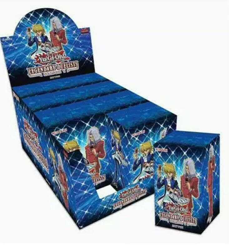 Yugioh Legendary Duelists Season 1 Booster Display Box 1st Edition New Sealed
