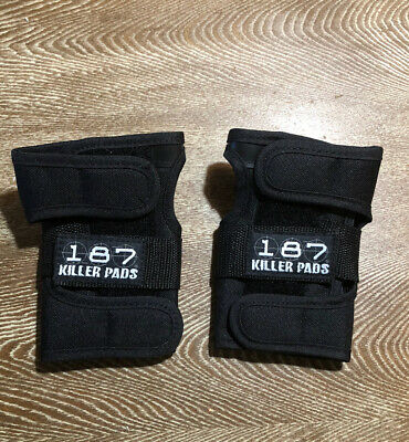 187 Killer Pads Wrist Guards Size Medium, NEW NWOT Roller Derby Skateboarding