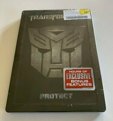 Transformers: Protect  DVD Embossed Steelbook  -  Region 1