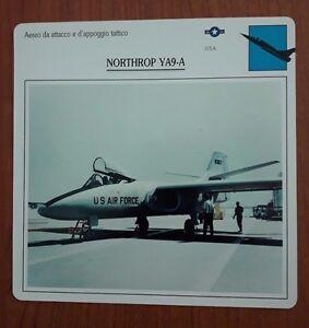Aereo da attacco e d'appoggio tattico - NORTHROP YA9-A U.S.A. - Italia - L'oggetto può essere restituito - Italia