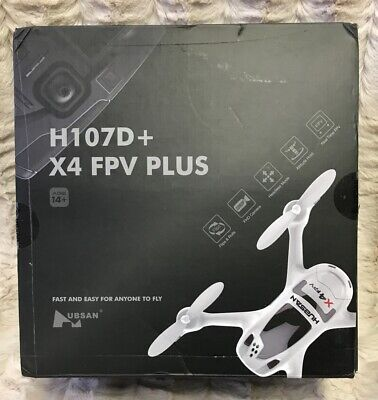 Hubsan H107D+ X4 FPV Plus Drone 5.8GHz HD Camera Altitude Hold LCD Transmitter