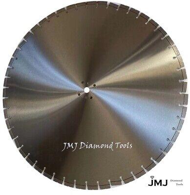 36-inch Professional Quality .155 Diamond Blade Cutting Concrete Asphalt