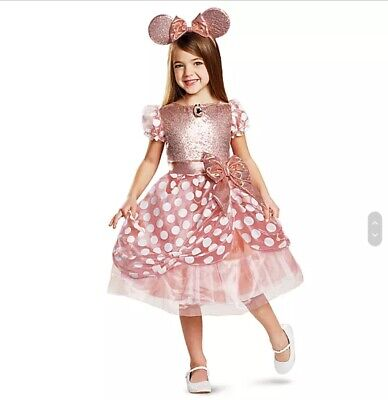Minnie Mouse costume for kids, Rose Gold, Disney -