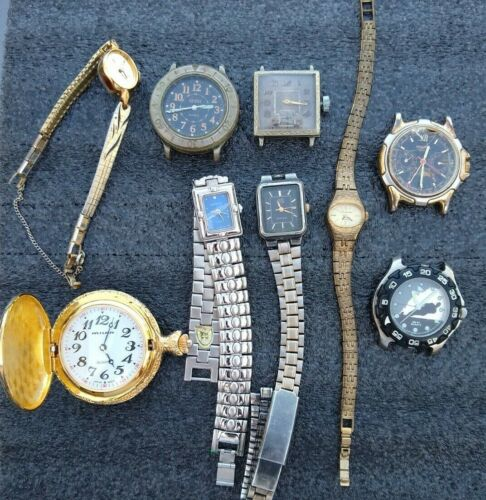 Watches Wristwatches Lot  AS IS for Parts/Repair
