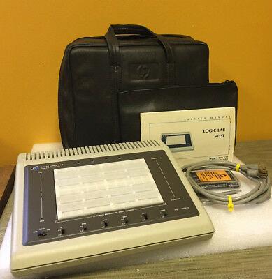 Hp Agilent 5035t 6 Ttl Switches 2 Ttl Clocks Logic Lab Accys. Tested