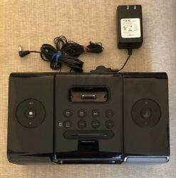 iHome Model iA9 Dual Alarm Clock Radio iPod Docking Station.  Tested OK