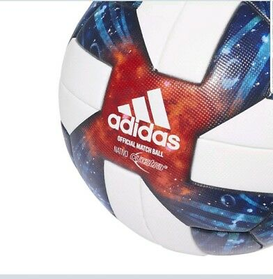 f7ef3c09270 Lot of 3 Adidas 2019 MLS OMB Nativo Questra soccer ball size 5