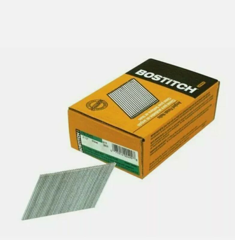 "Stanley Bostitch Finish Nails Da 15 Ga 2-1/2 "" Box Of 4000"