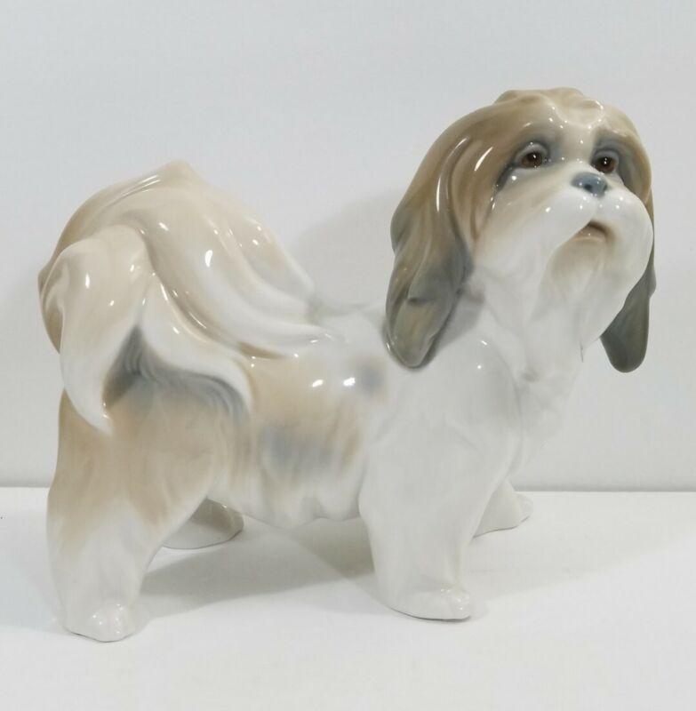 LLADRO Tibetan Terrier Dog Figurine Retired, by Sculptor Salvador Furio